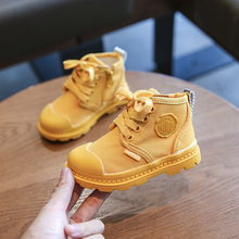 201ga新式(小)宝宝pu学步鞋软底1-3一岁2男女宝宝短靴春秋季单靴