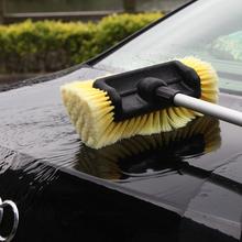 伊司达ga米洗车刷刷pu车工具泡沫通水软毛刷家用汽车套装冲车