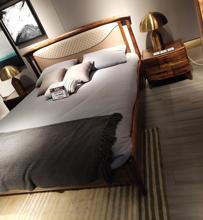 意式极简北欧布艺ga5现代简约le8米客房(小)尺寸户型布床可拆洗