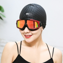 鲸鱼大ga泳镜 高清dh 泳镜 男女士 防水偏光平光游泳眼镜