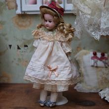 古董娃娃陶瓷百年浓汤德国