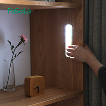 家用LgaD柜底灯无de玄关粘贴灯条随心贴便携手压(小)夜灯