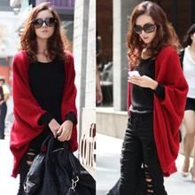 2020秋装新式大gb6女装外套jj松蝙蝠衫针织开衫披肩毛衣外套