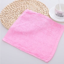 【20gd装】油利除jt洗碗巾纯棉木纤维彩色方巾(小)毛巾厨房抹布
