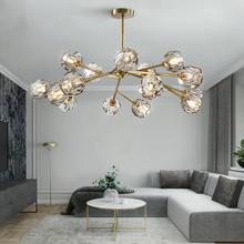 201ge年新式后现ju客厅吊灯餐厅轻奢北欧时尚简约大气创意灯具