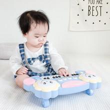 婴幼儿ge键玩具宝宝xu早教益智音乐(小)钢琴宝宝女孩男孩
