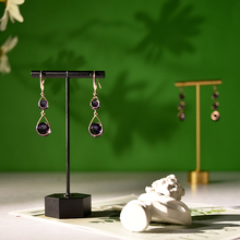 耳环架ge耳钉架女家di收纳挂架饰品拍摄道具创意(小)摆件