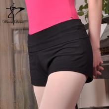 芭蕾舞ge练功裤瑜伽hu式舞蹈裤舞美佳女裤短裤三分裤高腰短裤