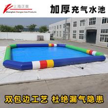 大型充ge水池游泳池ci上乐园设备厂家水上冲关闯关滑梯跷跷板