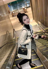 反季清ge特价很仙的li棉衣超火羽绒棉服女装名媛圆领外套冬式