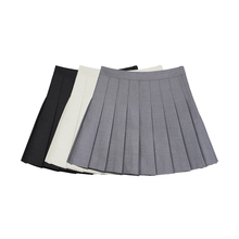 VEGge CHANer褶裙女2021夏新式风约会裙子高腰半身裙