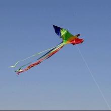 新款七彩凤凰长尾儿童风筝