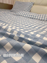 纯棉加gf单件1.8gz套3m炕单定做榻榻米夏季帆布单