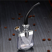 清洗水gg璃可水烟烟rc全套烟烟嘴金属循环烟具女士过滤