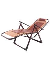 夏天躺椅成gh折叠躺椅懒dr室午休阳台靠椅老的。睡椅竹凉椅
