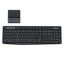 K375s 无线gh5牙键盘双ned平板电脑安卓适用苹果MAC手机蓝牙连