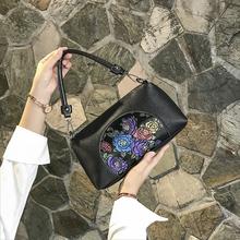 中年女gh妈妈包20ne式软皮(小)包包女士时尚简约大容量单肩斜挎包
