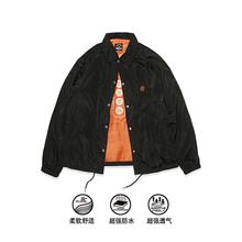 S-SghDUCE ne0 食钓秋季新品设计师教练夹克外套男女同式休闲加绒