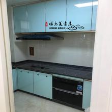隐框晶钢们橱柜门gi5销隐框门le门板厨房门隐形边框唯美厂家