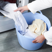 时尚创gi脏衣篓脏衣de衣篮收纳篮收纳桶 收纳筐 整理篮
