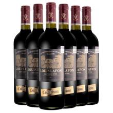 法国原gi进口红酒路de庄园干红12度葡萄酒2009整箱装750ml*6