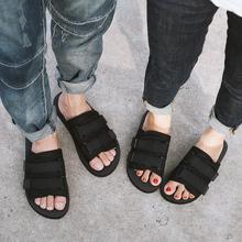 越南拖鞋男潮流韩款夏季一gj9拖休闲情cj滑沙滩鞋时尚凉拖男