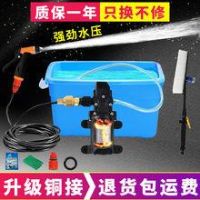 【铜电gk】12v dqv高压洗车水枪家用洗车神器电动水泵