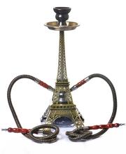 [gkwq]埃菲尔铁塔水烟套装双管水