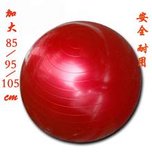 85/gl5/105mo厚防爆健身球大龙球宝宝感统康复训练球大球