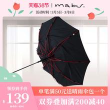 日本进gl品牌Mabde风暴轻质便携纯色商务伞晴雨男生伞折伞