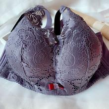 超厚显gl10厘米(小)te神器无钢圈文胸加厚12cm性感内衣女