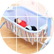 婴儿摇go新生儿床电ar摇篮床宝宝睡篮哄睡摇摇床抖音哄娃神器