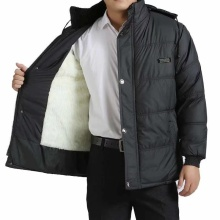 中老年go衣男爷爷冬fd老年的棉袄老的羽绒服男装加厚爸爸棉服