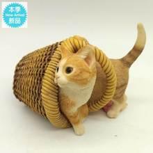 创意猫go(小)摆件装饰ka卧室房间室内个性实用女生摆设工艺品