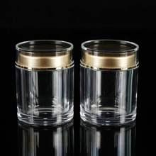 直销亚go力瓶 黑枸ka食品包装三七粉藏红花瓶子定制7*9商用