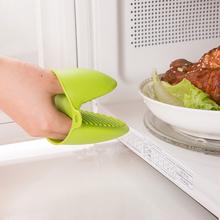 日本厨go防烫夹子加er烘培耐高温微波炉烤箱隔热手套夹碗器
