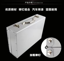 新铁箱gp厚式电动工lq家用 铁工具盒车载