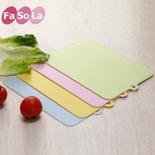 fasgqla日式生uw砧板婴儿辅食厨房轻薄菜板塑料水果砧板