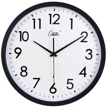 康巴丝gr4英寸钟表du室创意挂钟静音扫描第三代智能电波钟包邮