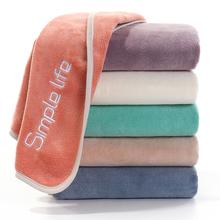 创意情侣毛巾浴巾比纯gr7柔软吸水nt毛男女家用洗澡洗脸毛巾
