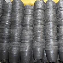 加厚育gr营养杯营养ng盆育苗盘大号一次性黑色塑料营养钵