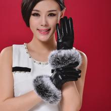 真兔毛gs可爱兔毛冬fg式加厚绒保暖时尚韩款防风