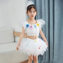 六一儿童节gt2出服饰蓬10童跳舞蹈表演服装幼儿园主持公主裙