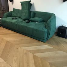 伯庭橡gu鱼骨拼多层ou合地板,木蜡油地板原木风艺术地板