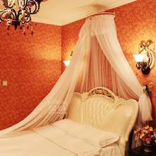 金卧宫gu风1.8mao家用加密加厚公主风欧式单门落地蚊帐床幔