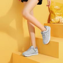 骆驼女gu2020户ng鞋女减震软底妈妈鞋轻便健步鞋休闲运动鞋女