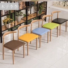 快餐桌gu组合早餐面da汉堡(小)吃饭店简约清新经济型