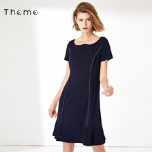Thegue专柜同式plOL工装裙子2020秋季装新式时尚潮