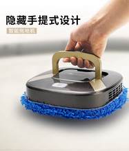 懒的静gu扫地机器的en自动拖地机擦地智能三合一体超薄吸尘器