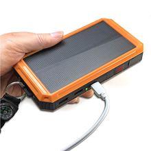 太阳能gu电宝带户外wm军工通用多功能正品防水大容量移动电源